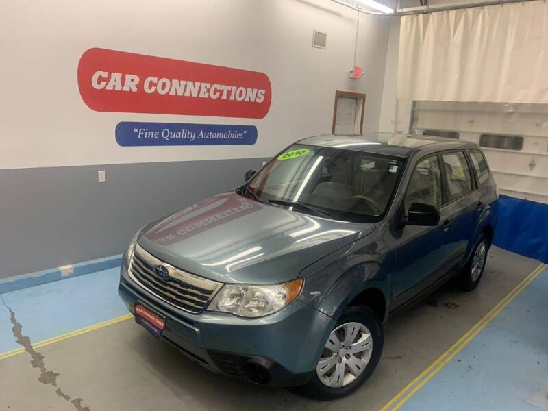 2010 Subaru Forester for sale at CAR CONNECTIONS in Somerset MA