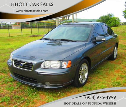 2007 Volvo S60 for sale at HHOTT CAR SALES in Deerfield Beach FL