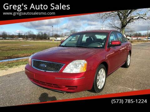 2006 Ford Five Hundred for sale at Greg's Auto Sales in Poplar Bluff MO