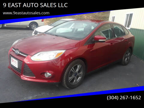 2014 Ford Focus for sale at 9 EAST AUTO SALES LLC in Martinsburg WV