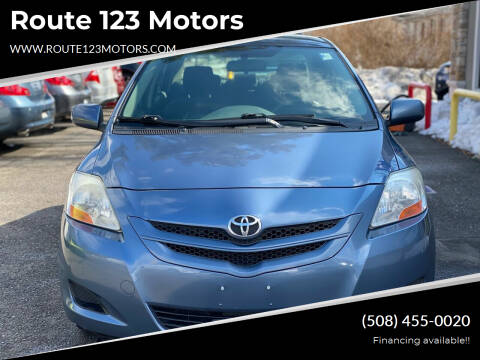 2007 Toyota Yaris for sale at Route 123 Motors in Norton MA