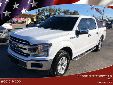 2018 Ford F-150 for sale at Outdoor Recreation World Inc. in Panama City FL