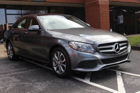 2017 Mercedes-Benz C-Class for sale at Team One Motorcars, LLC in Marietta GA