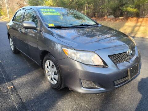 2010 Toyota Corolla for sale at Showcase Auto & Truck in Swansea MA