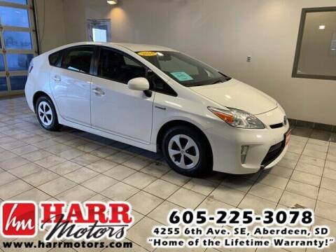 2014 Toyota Prius for sale at Harr's Redfield Ford in Redfield SD