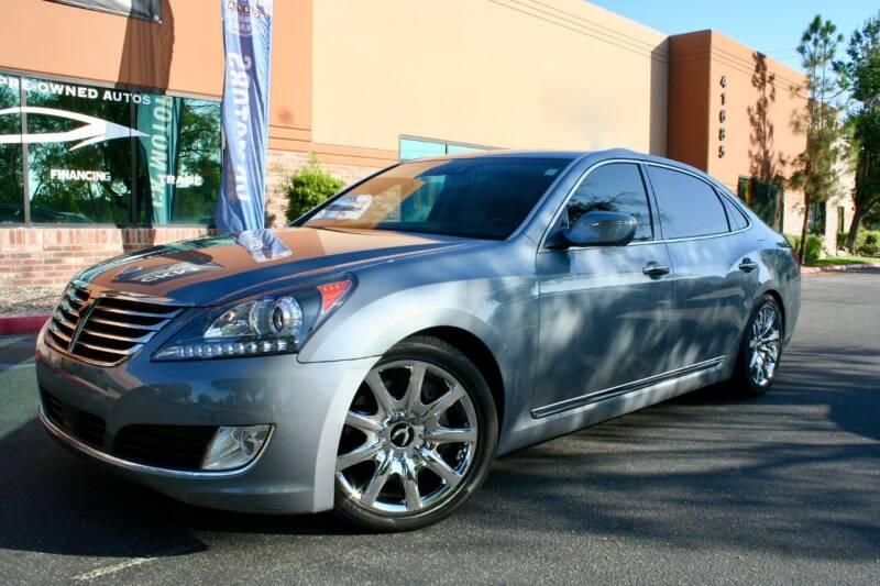 2015 Hyundai Equus for sale at CK Motors in Murrieta CA