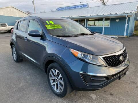 2014 Kia Sportage for sale at HACKETT & SONS LLC in Nelson PA