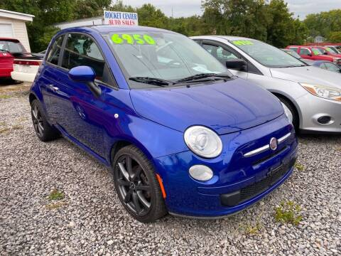 2012 FIAT 500 for sale at Rocket Center Auto Sales in Mount Carmel TN