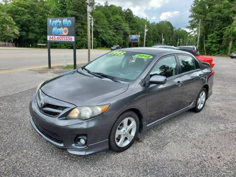 2012 Toyota Corolla for sale at Let's Go Auto in Florence SC