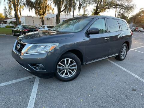 2013 Nissan Pathfinder for sale at CHECK  AUTO INC. in Tampa FL
