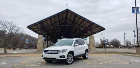 2015 Volkswagen Tiguan for sale at D&C Motor Company LLC in Merriam KS