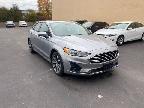 2020 Ford Fusion for sale at My Town Auto Sales in Madison Heights MI