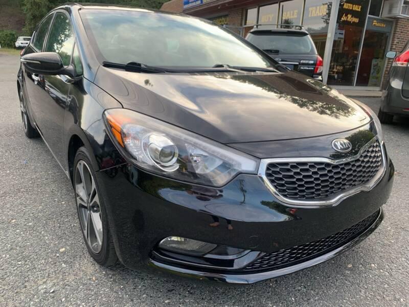 2014 Kia Forte for sale at D & M Discount Auto Sales in Stafford VA