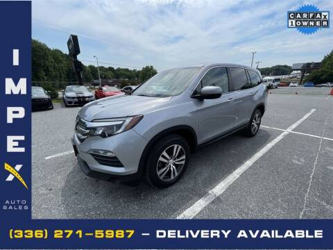 2018 Honda Pilot for sale at Impex Auto Sales in Greensboro NC
