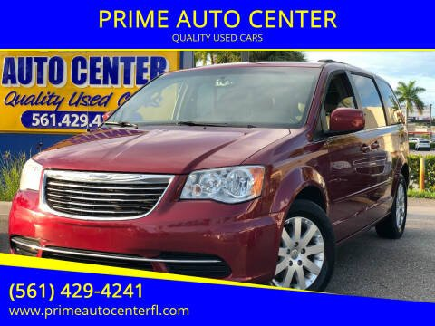 2016 Chrysler Town and Country for sale at PRIME AUTO CENTER in Palm Springs FL