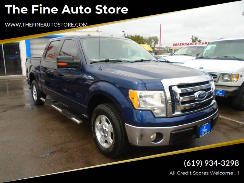 2010 Ford F-150 for sale at The Fine Auto Store in Imperial Beach CA