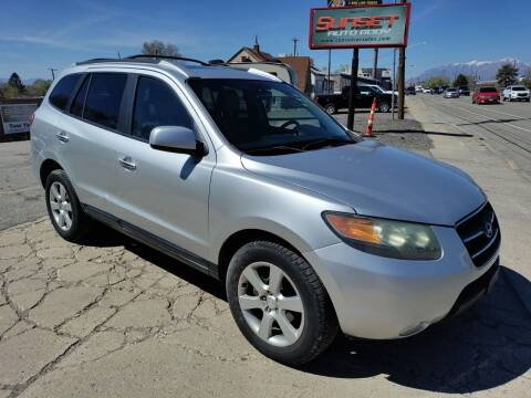 2007 Hyundai Santa Fe for sale at Sunset Auto Body in Sunset UT