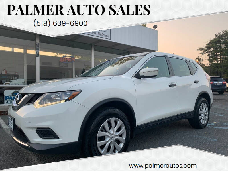 2016 Nissan Rogue for sale at Palmer Auto Sales in Menands NY