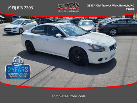 2014 Nissan Maxima for sale at Complete Auto Center , Inc in Raleigh NC