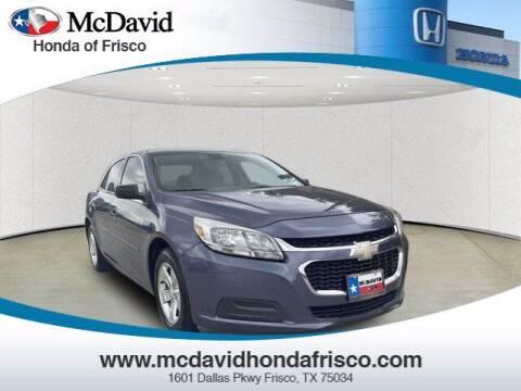 2014 Chevrolet Malibu for sale at DAVID McDAVID HONDA OF IRVING in Irving TX