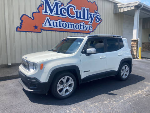 2016 Jeep Renegade for sale at McCully's Automotive - Trucks & SUV's in Benton KY