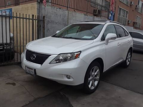 2011 Lexus RX 350 for sale at Western Motors Inc in Los Angeles CA