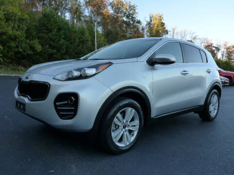 2017 Kia Sportage for sale at RUSTY WALLACE KIA OF KNOXVILLE in Knoxville TN