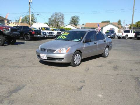 2006 Mitsubishi Lancer for sale at Trucks Max USA in Manteca CA