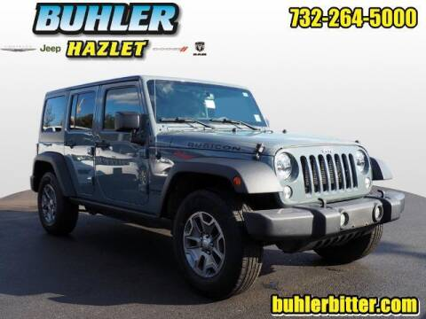 2015 Jeep Wrangler Unlimited for sale at Buhler and Bitter Chrysler Jeep in Hazlet NJ