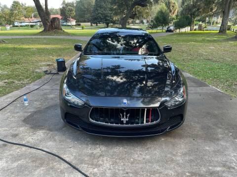 2014 Maserati Ghibli for sale at Louie's Auto Sales in Leesburg FL