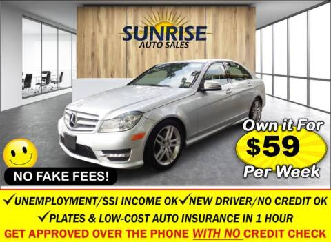2013 Mercedes-Benz C-Class for sale at AUTOFYND in Elmont NY