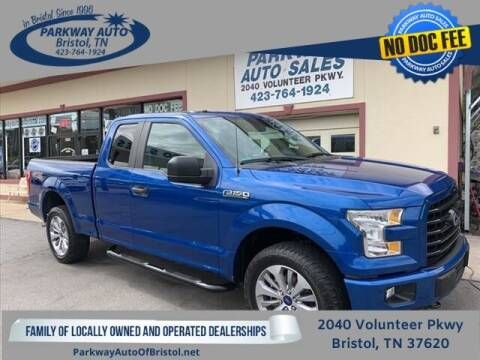 2017 Ford F-150 for sale at PARKWAY AUTO SALES OF BRISTOL - Roan Street Motors in Johnson City TN