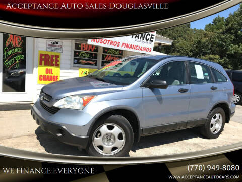 2009 Honda CR-V for sale at Acceptance Auto Sales Douglasville in Douglasville GA