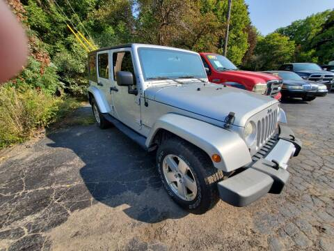 2008 Jeep Wrangler Unlimited for sale at Mancuso Country Auto in Batavia NY