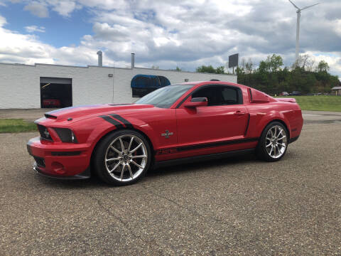 2007 Ford Shelby GT500 for sale at Jim's Hometown Auto Sales LLC in Byesville OH