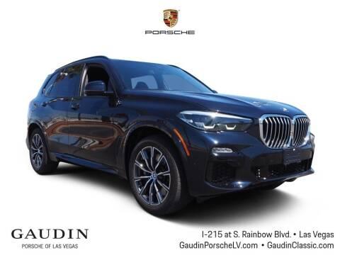 2019 BMW X5 for sale at Gaudin Porsche in Las Vegas NV