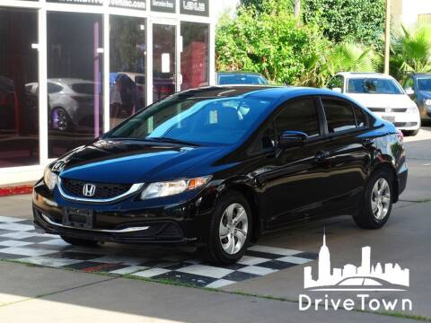 2014 Honda Civic for sale at Drive Town in Houston TX