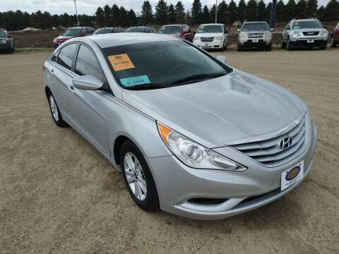 2013 Hyundai Sonata for sale at BERG AUTO MALL & TRUCKING INC in Beresford SD