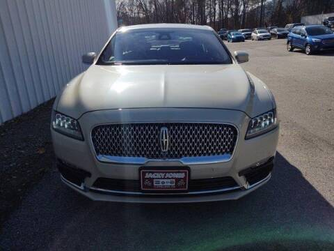 2018 Lincoln Continental for sale at CU Carfinders in Norcross GA