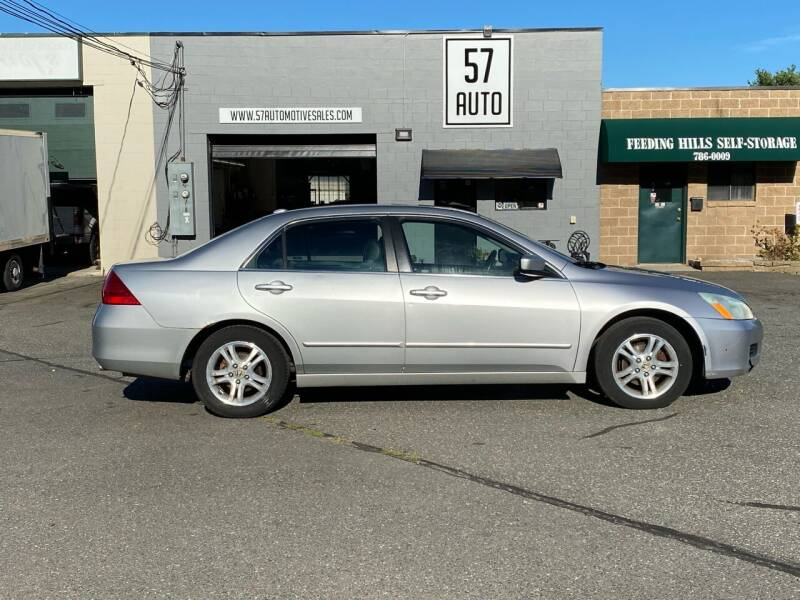 2006 Honda Accord for sale at 57 AUTO in Feeding Hills MA