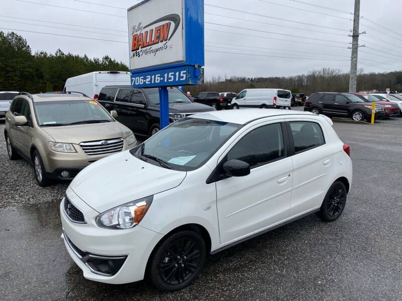 2020 Mitsubishi Mirage for sale at Billy Ballew Motorsports in Dawsonville GA