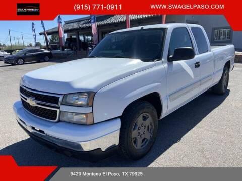 2006 Chevrolet Silverado 1500 for sale at SOUTHWEST AUTO GROUP-EL PASO in El Paso TX