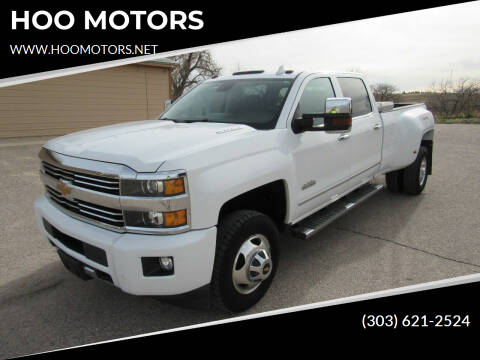2015 Chevrolet Silverado 3500HD for sale at HOO MOTORS in Kiowa CO