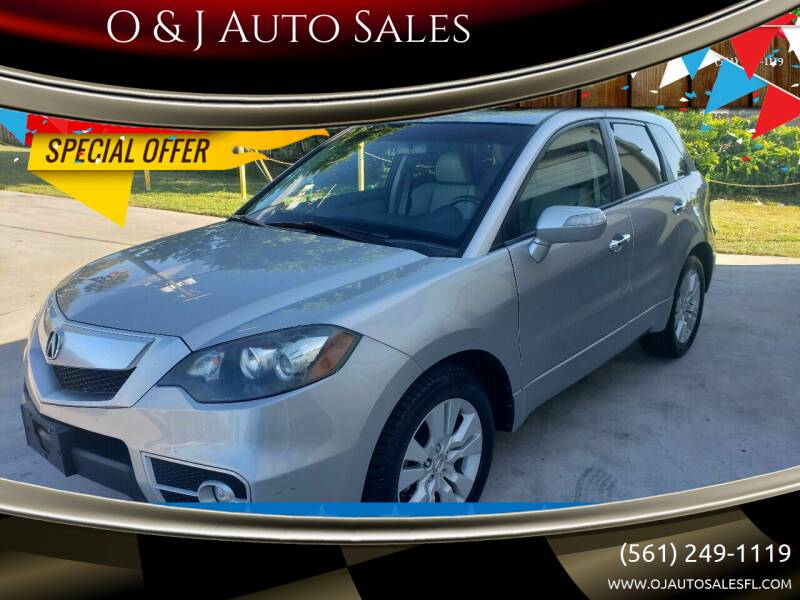 2011 Acura RDX for sale at O & J Auto Sales in Royal Palm Beach FL