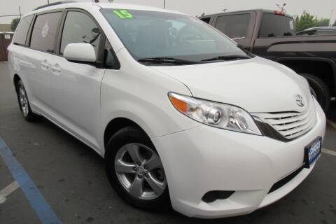 2015 Toyota Sienna for sale at Choice Auto & Truck in Sacramento CA