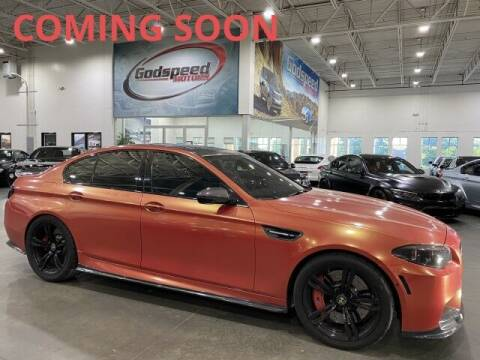 2015 BMW M5 for sale at Godspeed Motors in Charlotte NC
