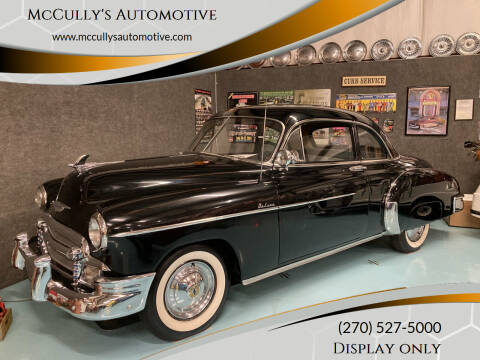 1950 Chevrolet Master Deluxe for sale at McCully's Automotive in Benton KY