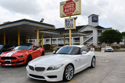 2015 BMW Z4 for sale at Houston Used Auto Sales in Houston TX