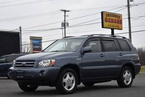 2005 Toyota Highlander for sale at Broadway Garage of Columbia County Inc. in Hudson NY