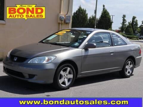 2004 Honda Civic for sale at Bond Auto Sales in Saint Petersburg FL